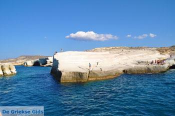 Sarakiniko Milos | Cycladen Griekenland | Foto 32 - Foto van De Griekse Gids