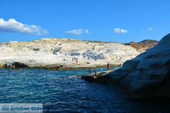 Sarakiniko Milos | Cycladen Griekenland | Foto 81 - Foto van De Griekse Gids