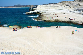 Sarakiniko Milos   Cycladen Griekenland   Foto 185 - Foto van De Griekse Gids