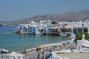 Mykonos stad - Chora Mykonos - Cycladen Foto 62 - Foto van De Griekse Gids