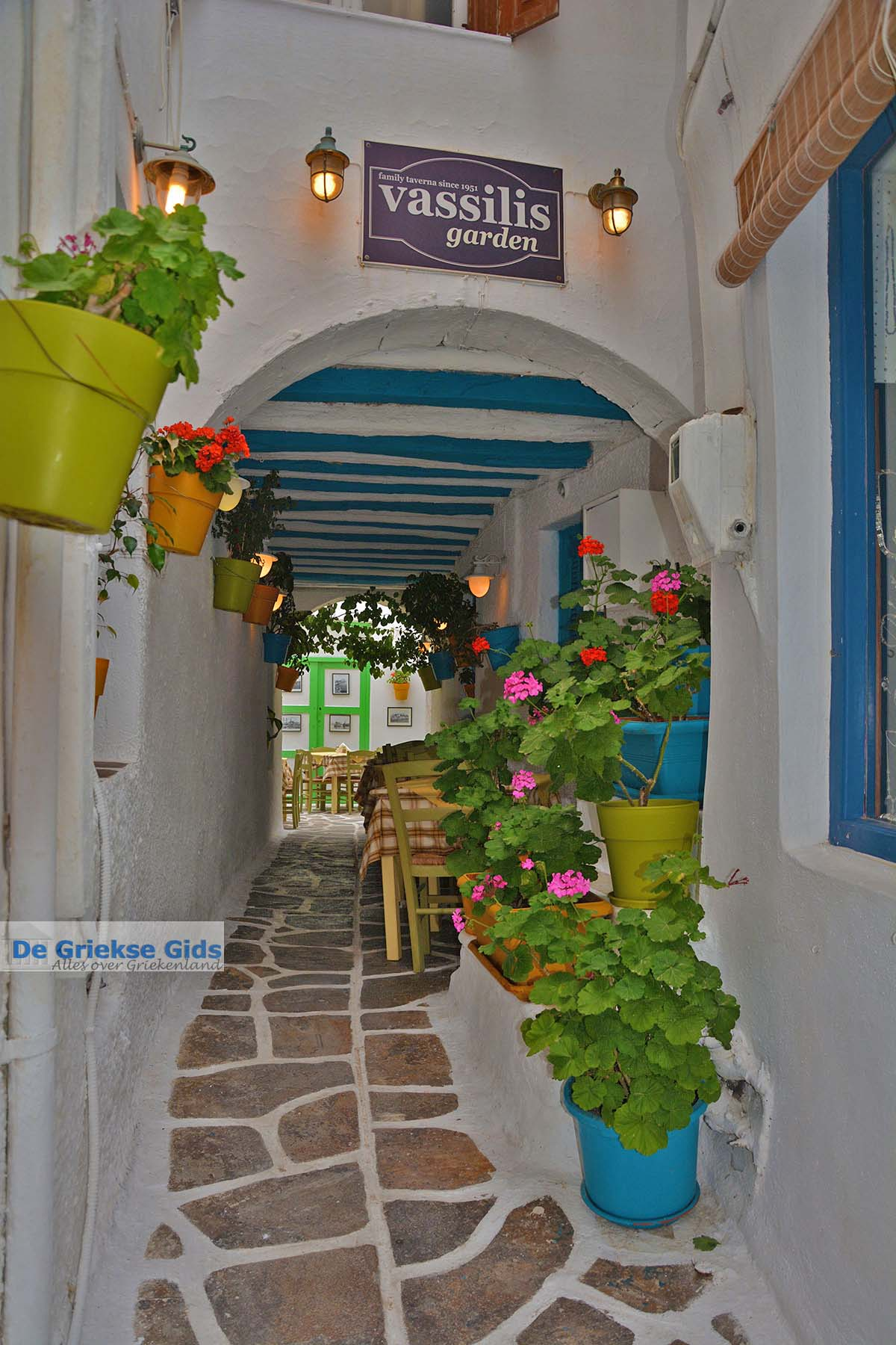 foto Naxos stad - Cycladen Griekenland - nr 89