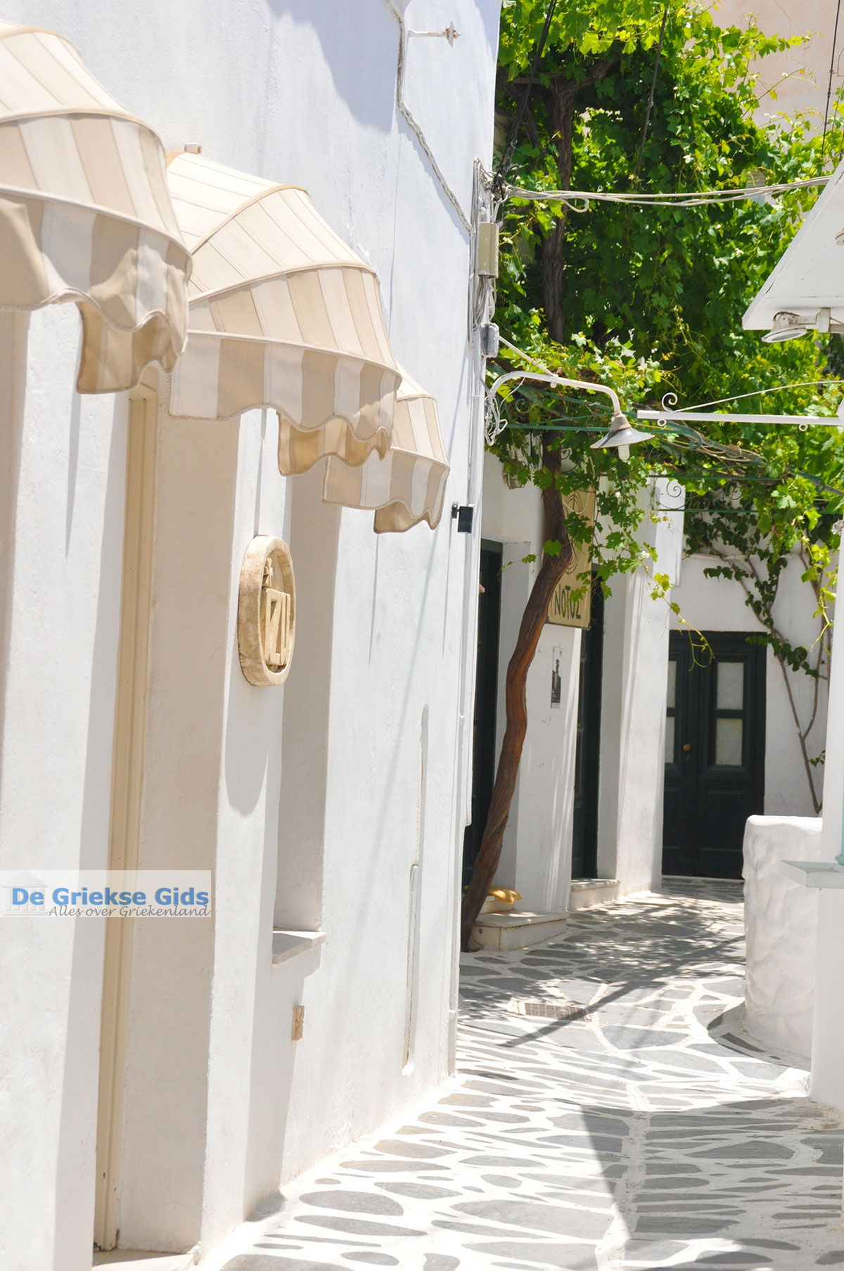 foto Naxos stad - Cycladen Griekenland - nr 193