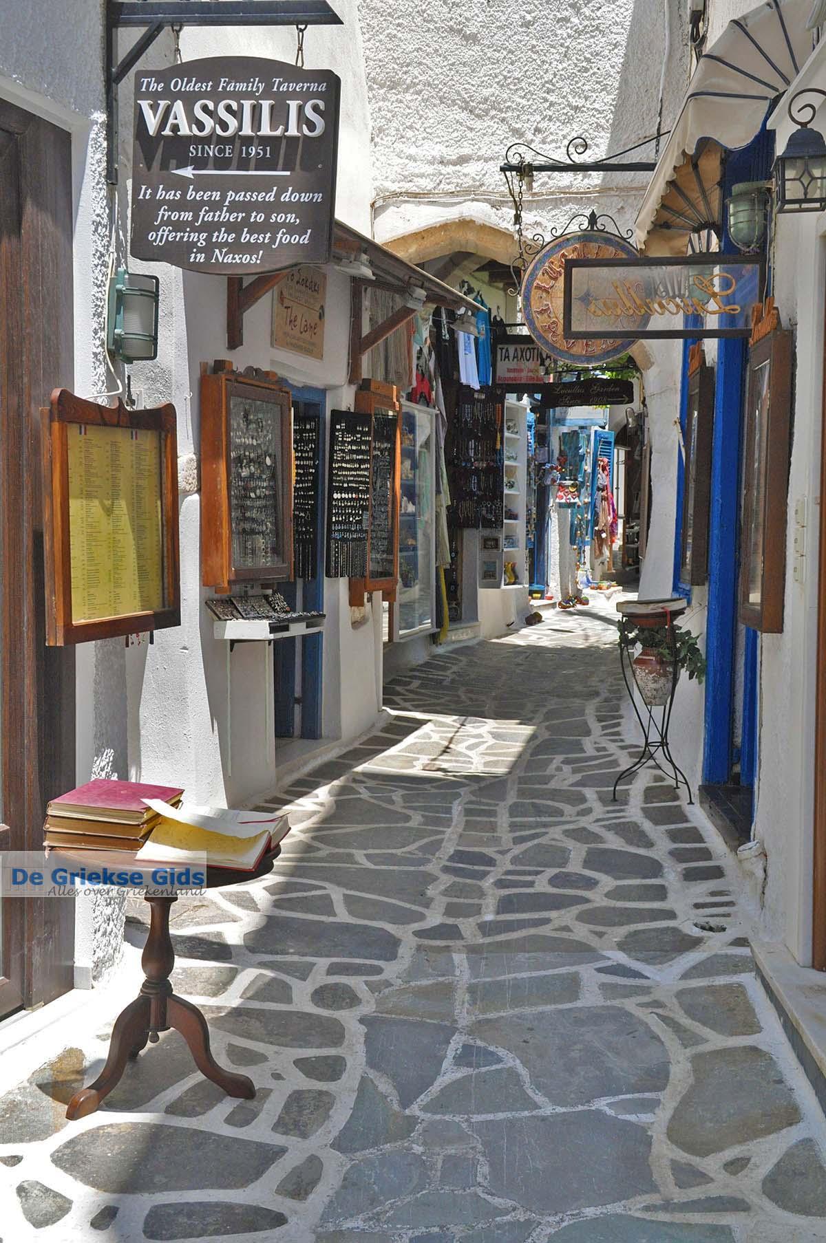foto Naxos stad - Cycladen Griekenland - nr 276