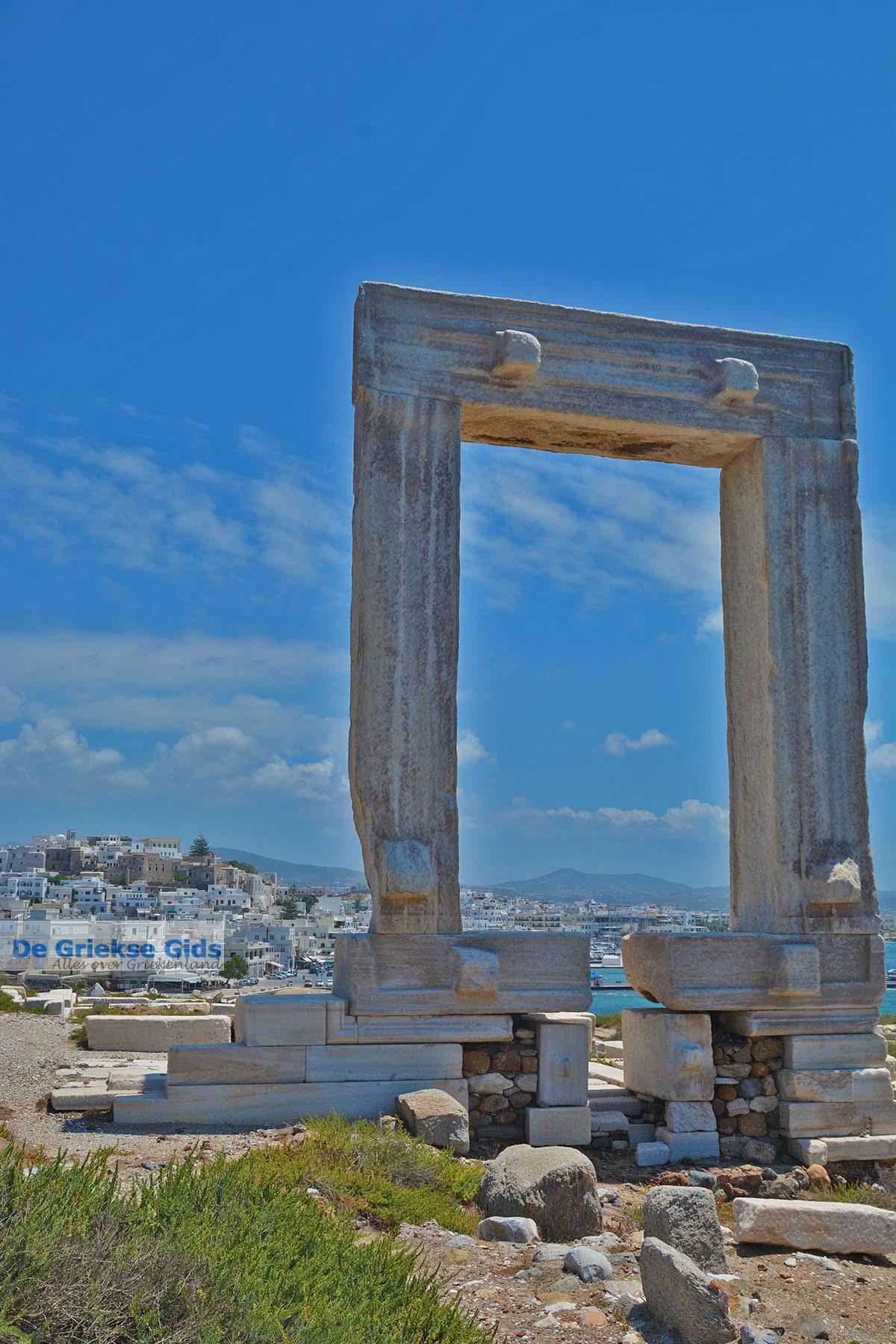 foto Naxos stad - Cycladen Griekenland - nr 336