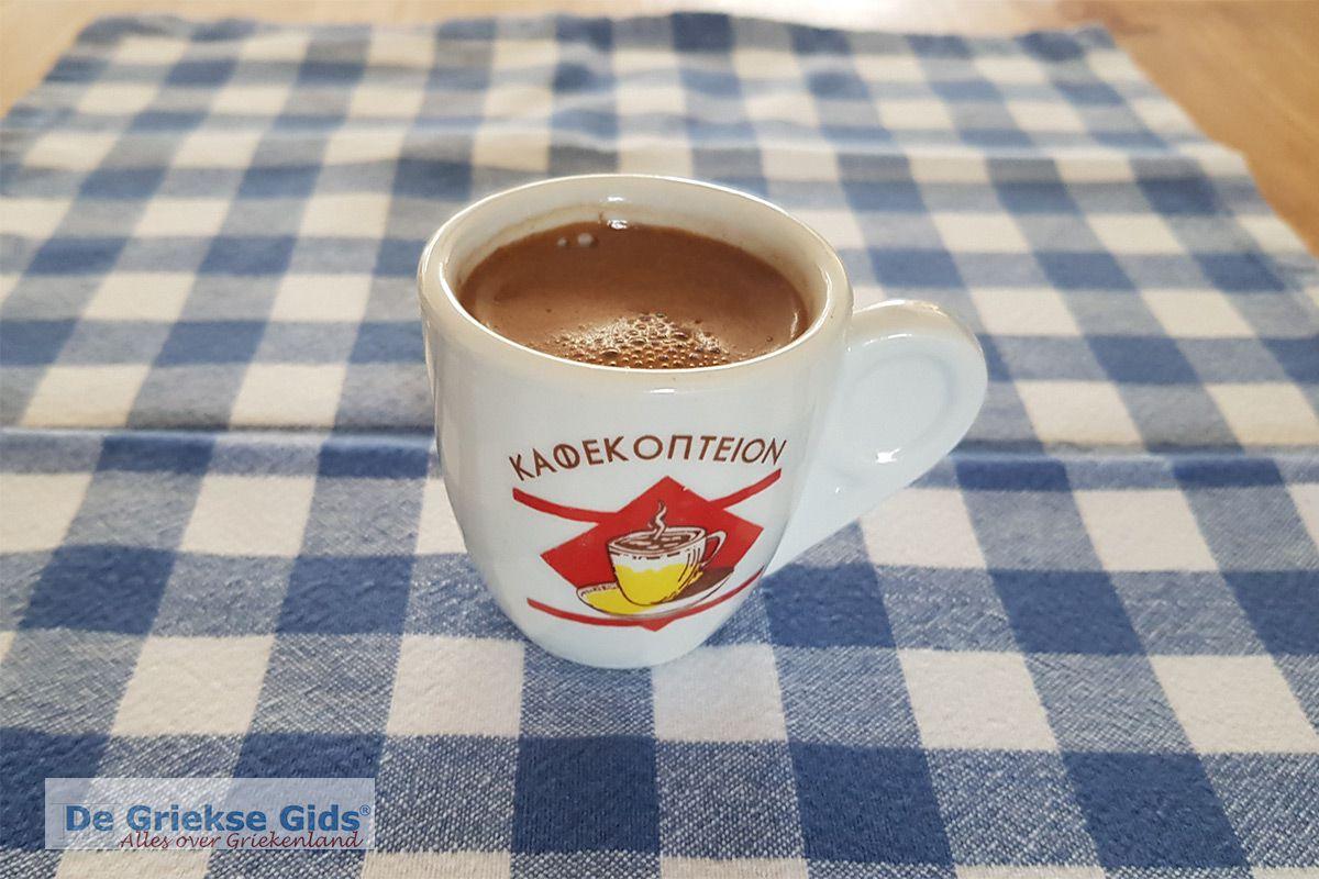 Griekse koffie maken