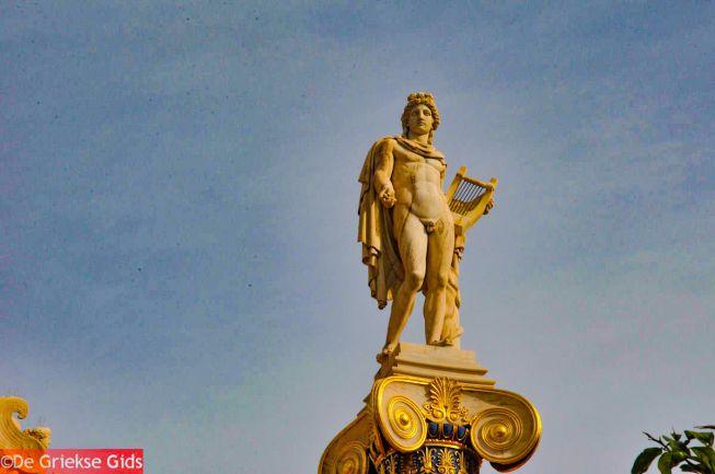 Apollo god van het licht