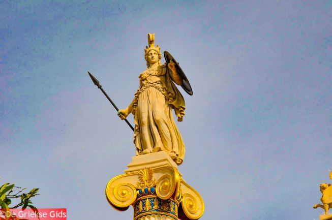 Athena godin van de wijsheid