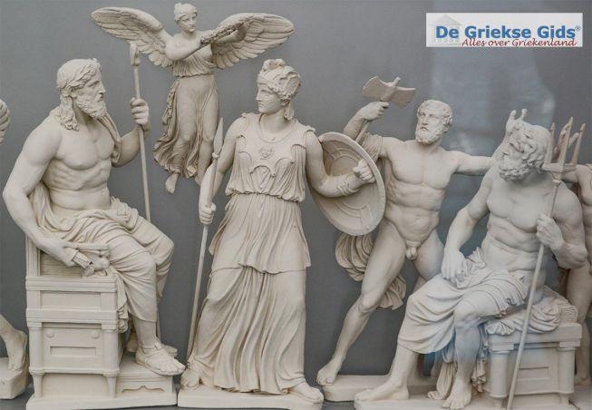 Mythologie Griekse goden en helden