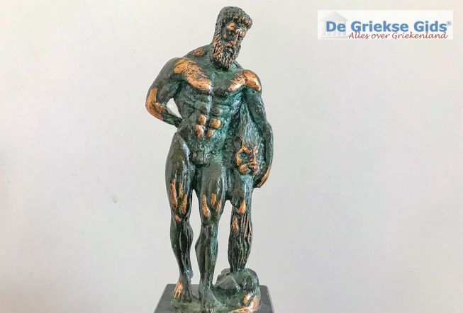 Griekse god Herakles of Hercules