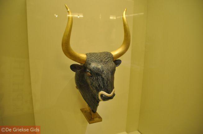 Minoische stierenkop