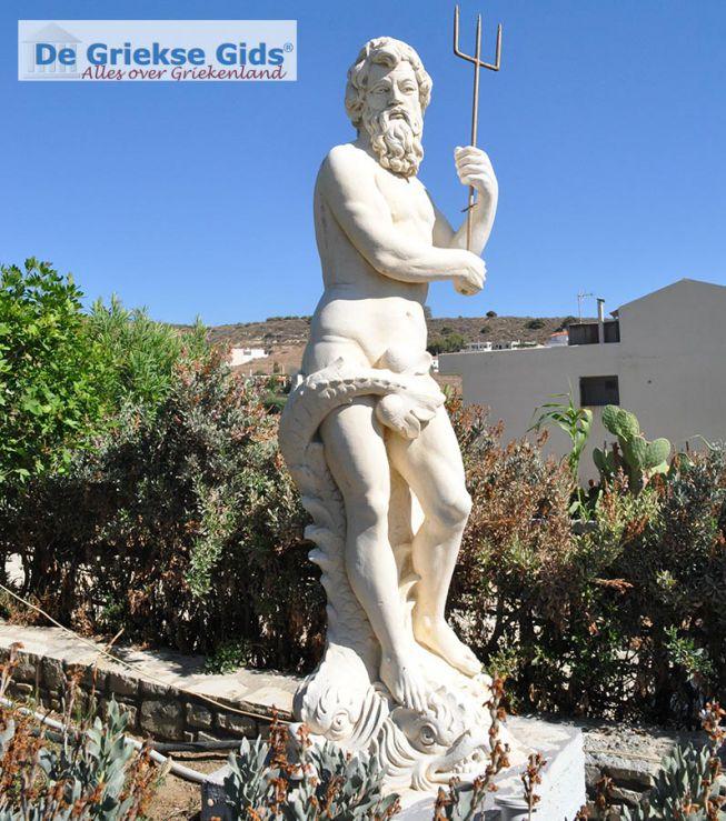 Griekse god Poseidon