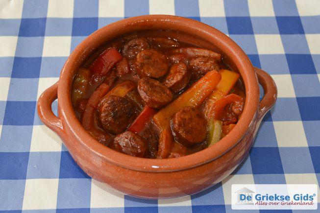 Spetsofai Grieks recept