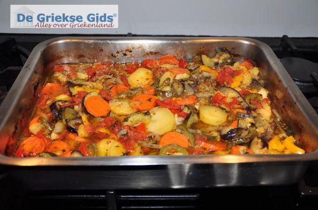 Briam Griekse groenteschotel