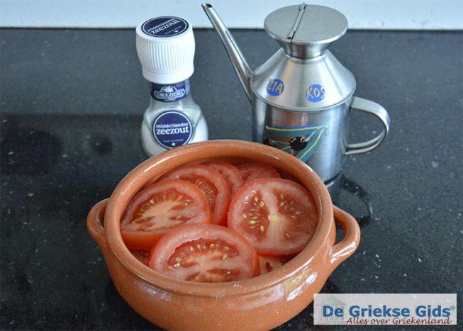 feta met tomaat