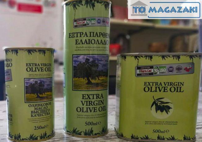 Extra vergin Griekse olijfolie