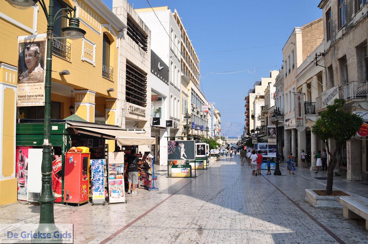 foto Winkelstraat Patras - Peloponessos