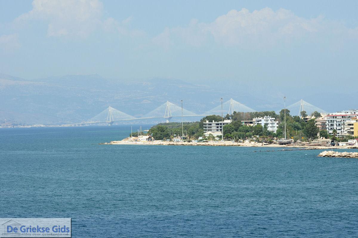 foto De brug Rion-Antirion vanaf Patras gezien - Foto 1
