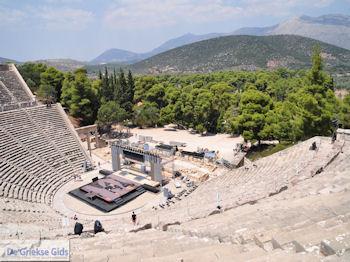 Epidavros Argolis - Peloponessos Foto 17 - Foto van De Griekse Gids