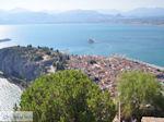 Nafplion vanaf het kasteel van Palamidi foto 2 - Foto van De Griekse Gids