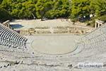 Theater Epidavros -Epidaurus in Argolis op Peloponnesos foto 2 - Foto van De Griekse Gids
