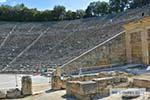 Theater Epidavros -Epidaurus in Argolis op Peloponnesos foto 4 - Foto van De Griekse Gids