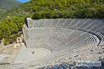 Theater Epidavros -Epidaurus in Argolis op Peloponnesos foto 5 - Foto van De Griekse Gids