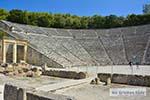 Theater Epidavros -Epidaurus in Argolis op Peloponnesos foto 7 - Foto van De Griekse Gids