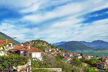 Levidi Arkadia Peleoponnesos - Villa Vager foto 1 - Foto van Villa Vager Levidi