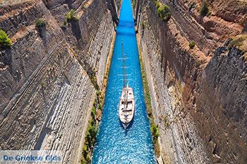 Kanaal Korinthe - Peloponnesos De Griekse Gids foto 1 - Foto van De Griekse Gids