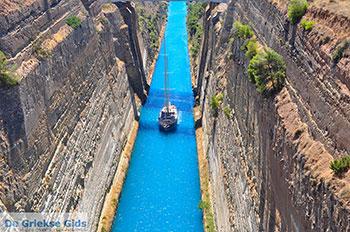 Kanaal Korinthe - Peloponnesos De Griekse Gids foto 2 - Foto van De Griekse Gids