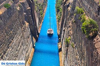 Kanaal Korinthe - Peloponnesos De Griekse Gids foto 5 - Foto van De Griekse Gids