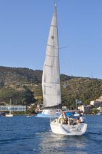 Zeilen Poros | Saronische eilanden | De Griekse Gids Foto 324 - Foto van De Griekse Gids