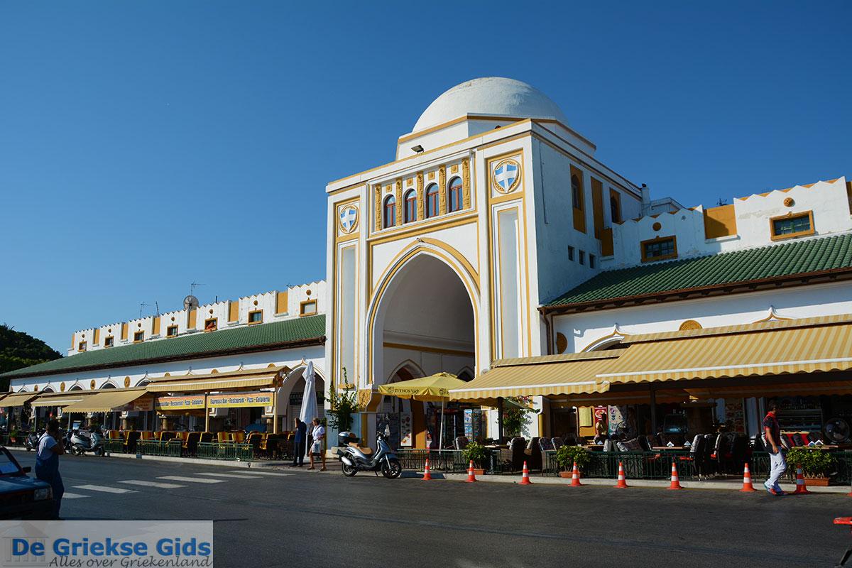 foto Nea Agora, nieuwe markt - Rhodos stad Rhodos - Rhodos Dodecanese