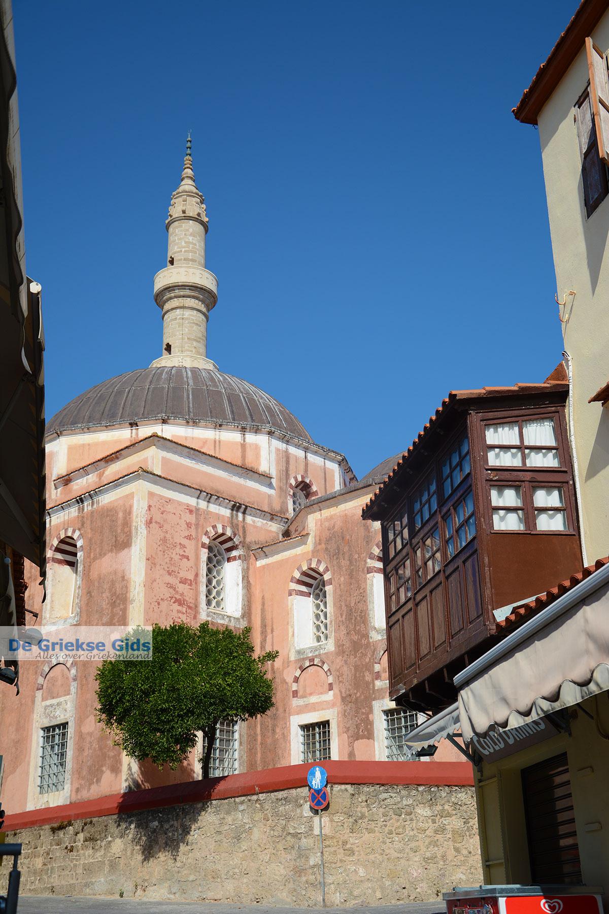 foto Suleiman Moskee - Rhodos stad Rhodos - Rhodos Dodecanese