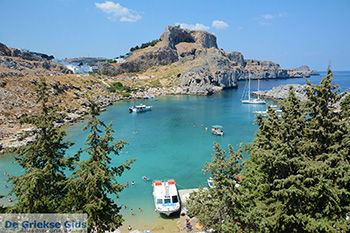 Lindos Rhodos - Rhodos Dodecanese - Foto 863 - Foto van De Griekse Gids