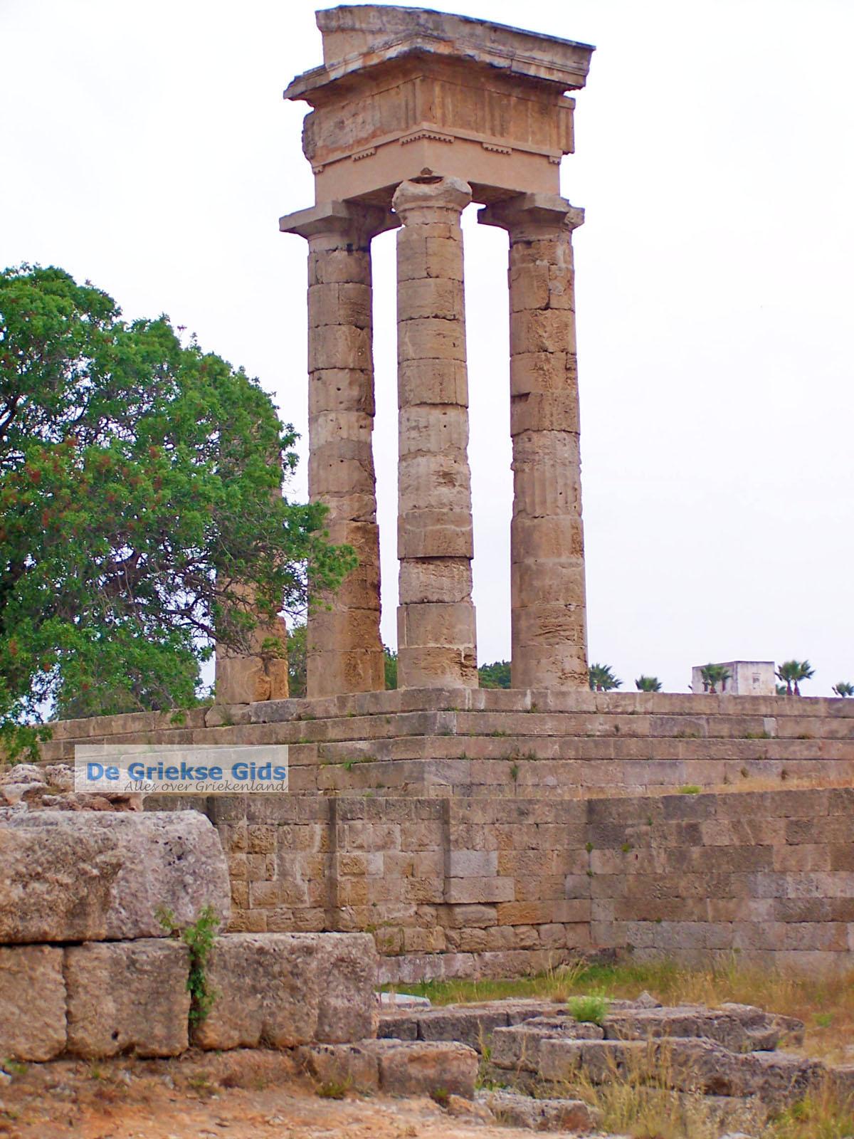foto Akropolis Ialyssos Rhodos Griekenland - De Griekse Gids foto 2