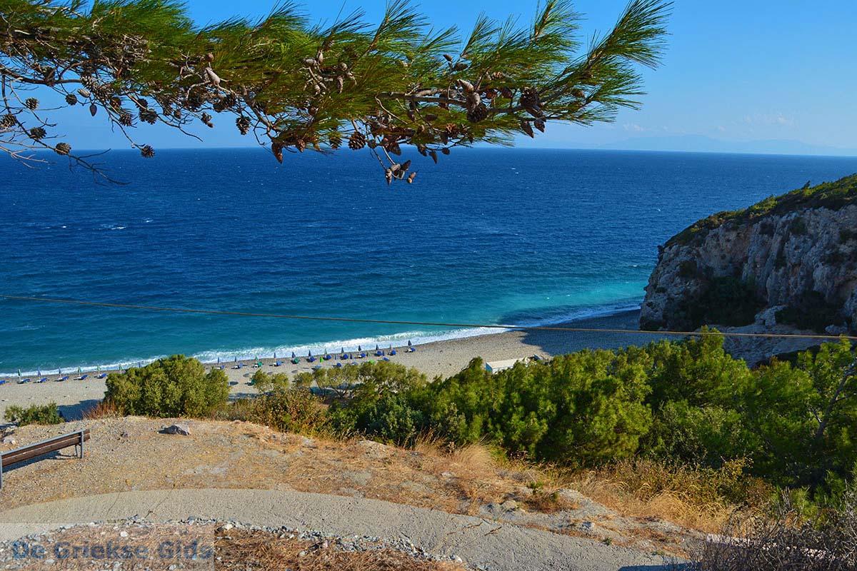 foto Strand Tsambou bij Avlakia Samos en Kokkari Samos   foto 5