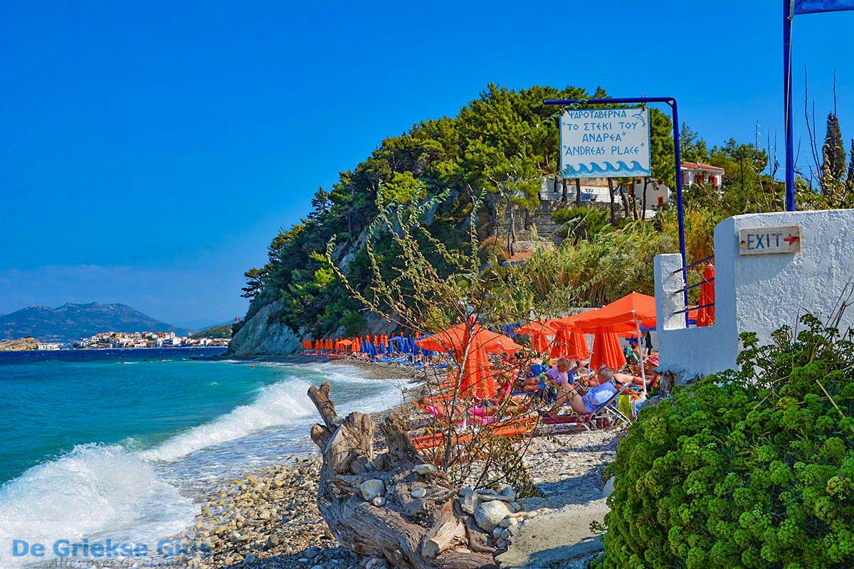 foto Strand Tsambou Kokkari Samos | Griekenland foto 0008