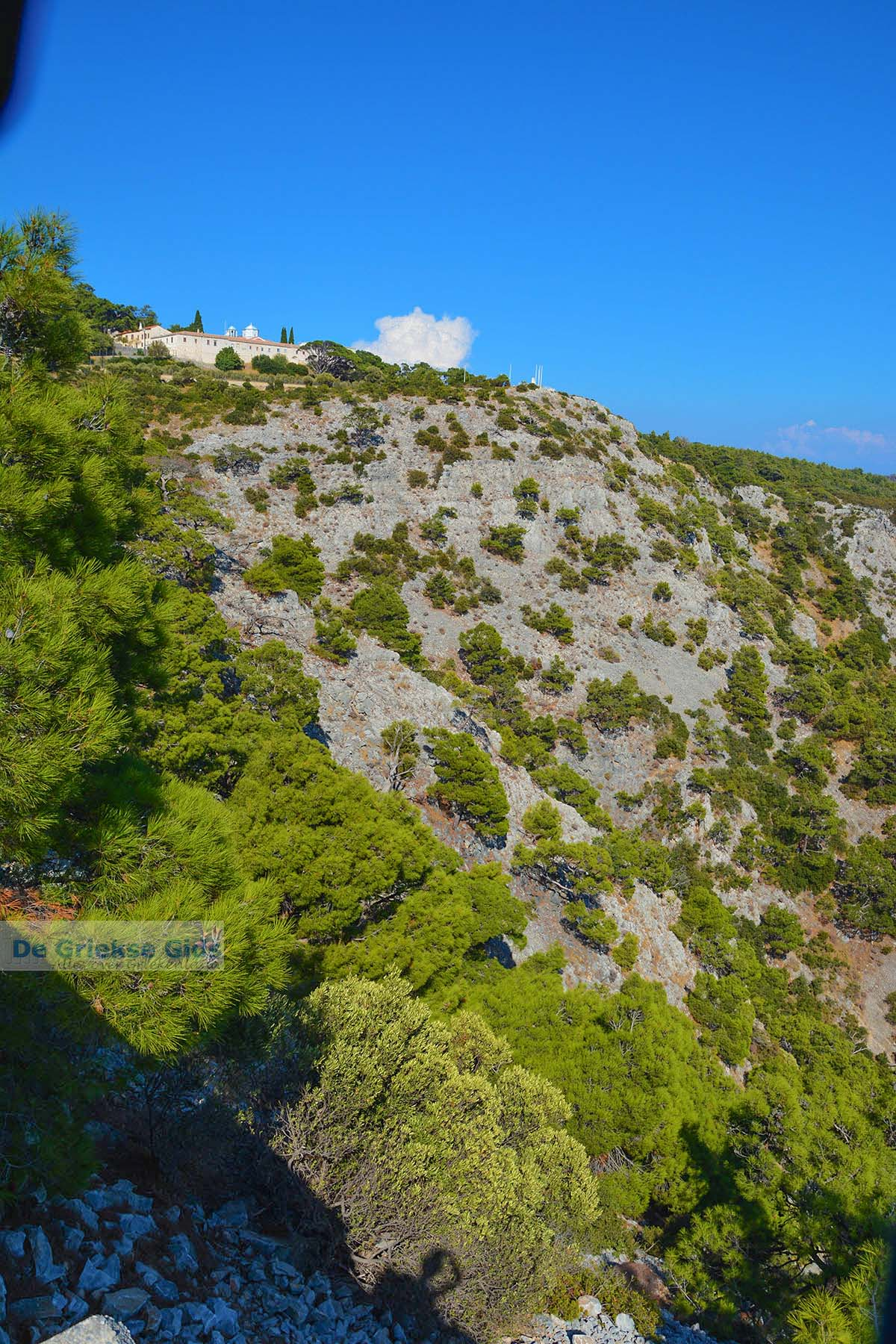 foto Zoodochou Pigis klooster bij Baai Mourtia Samos | Griekenland | Foto 16