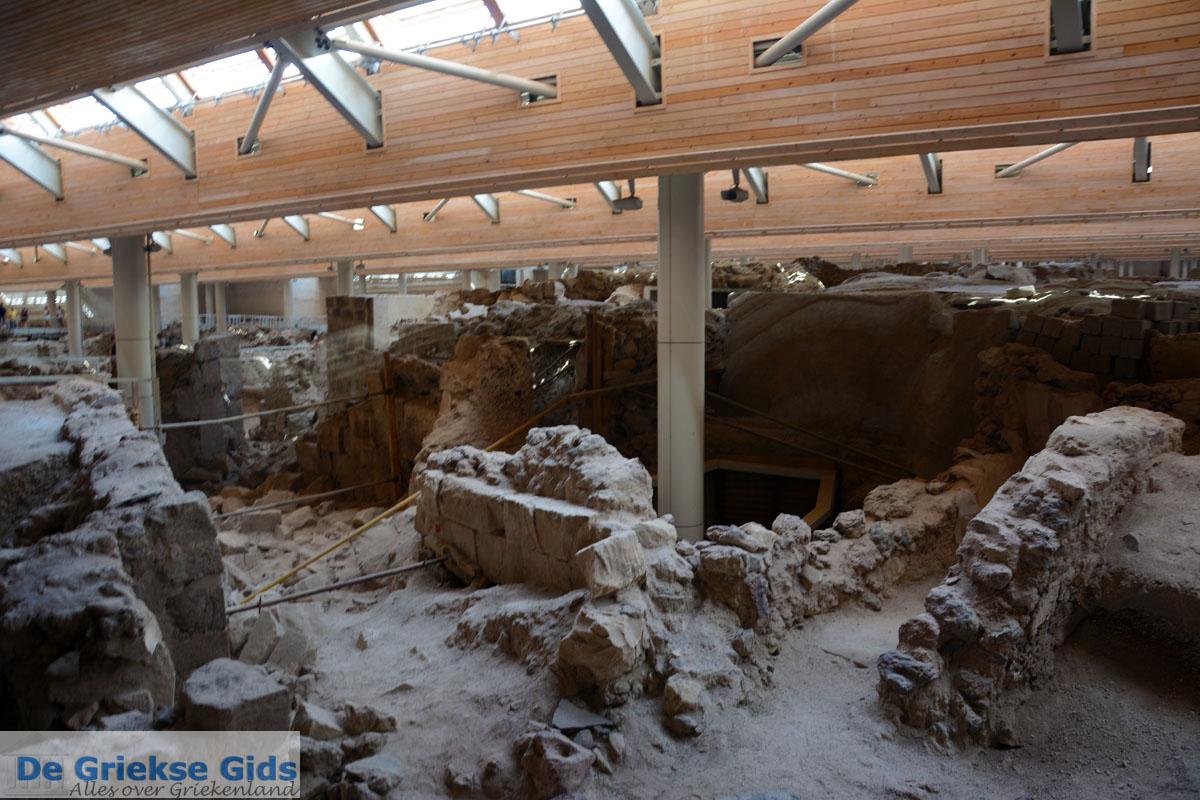foto Opgravingen Akrotiri Santorini | Cycladen Griekenland | Foto 8