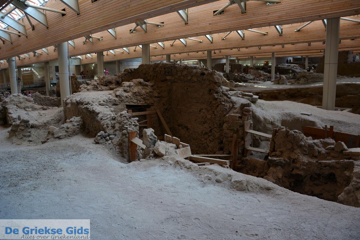 foto Opgravingen Akrotiri Santorini | Cycladen Griekenland | Foto 10