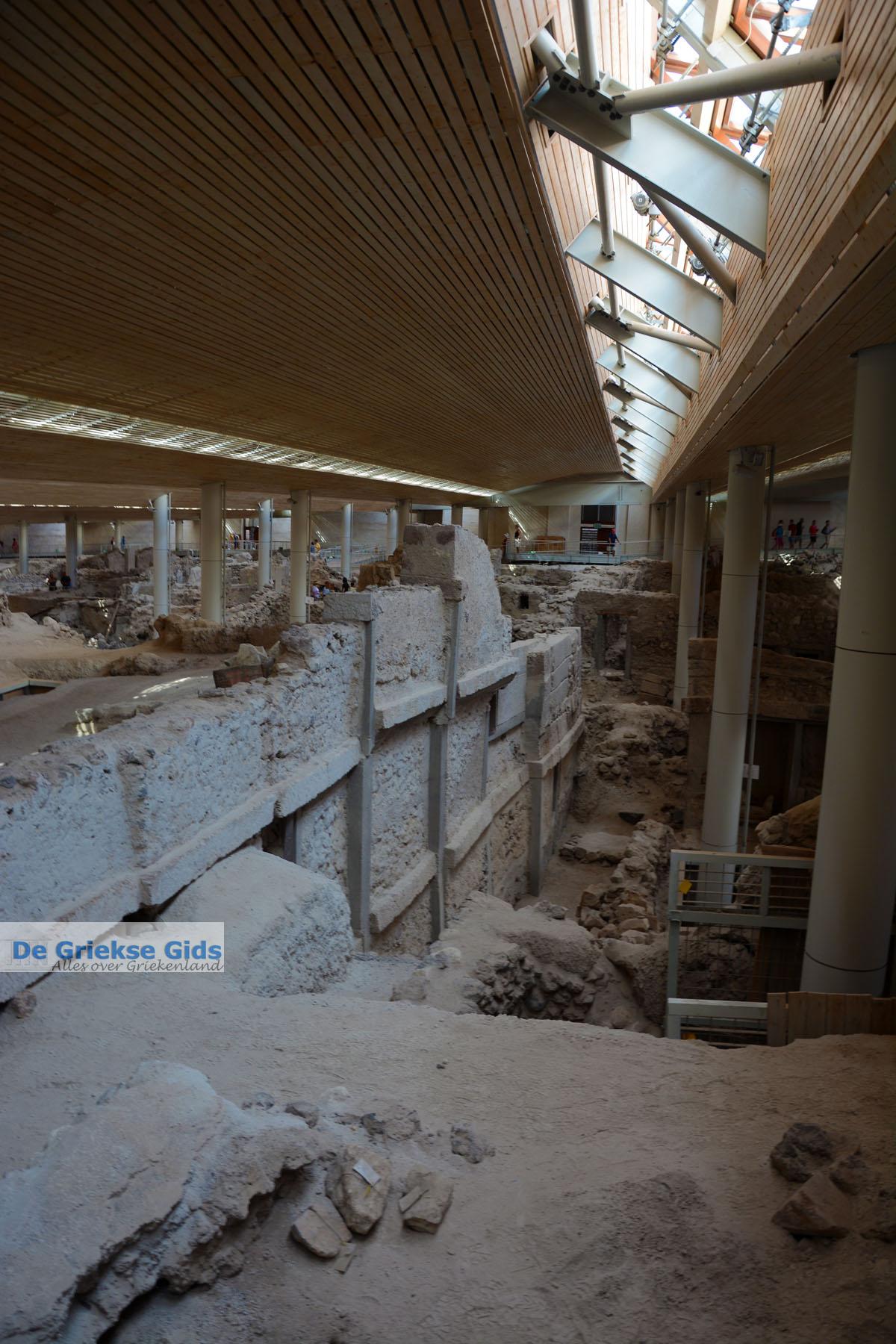foto Opgravingen Akrotiri Santorini | Cycladen Griekenland | Foto 11