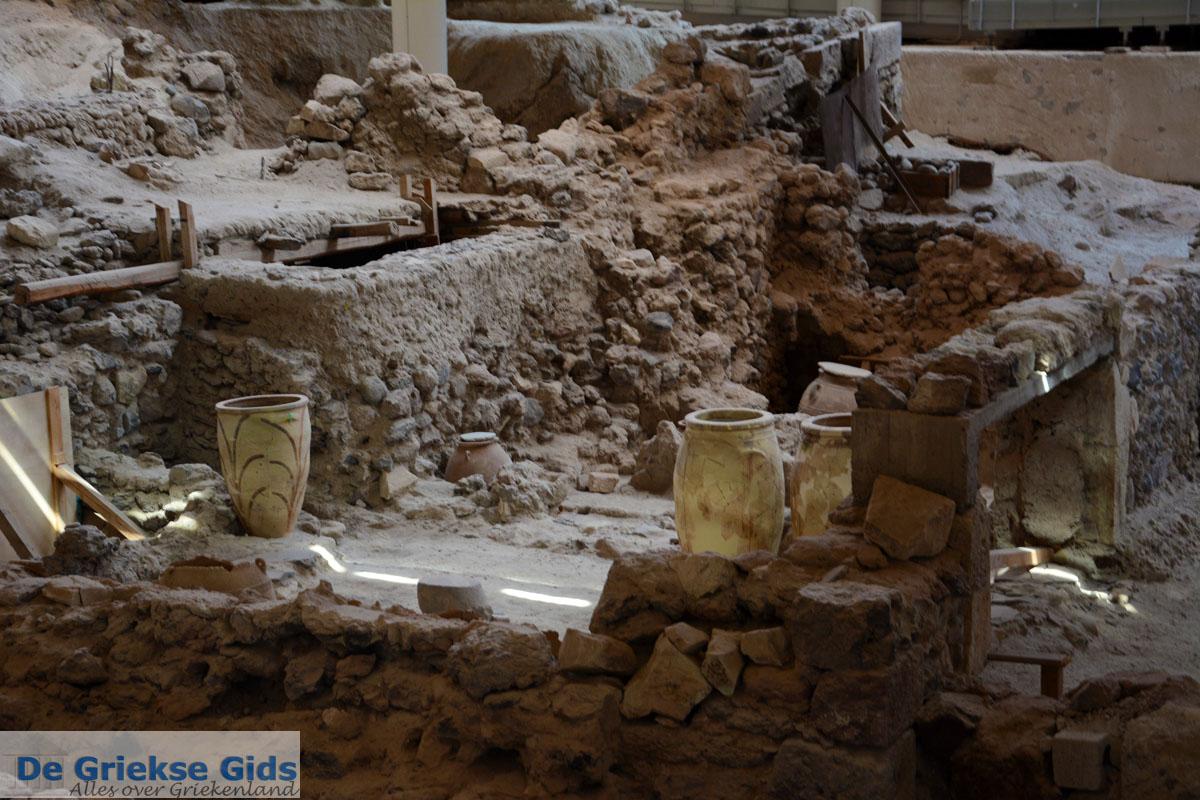 foto Opgravingen Akrotiri Santorini | Cycladen Griekenland | Foto 14