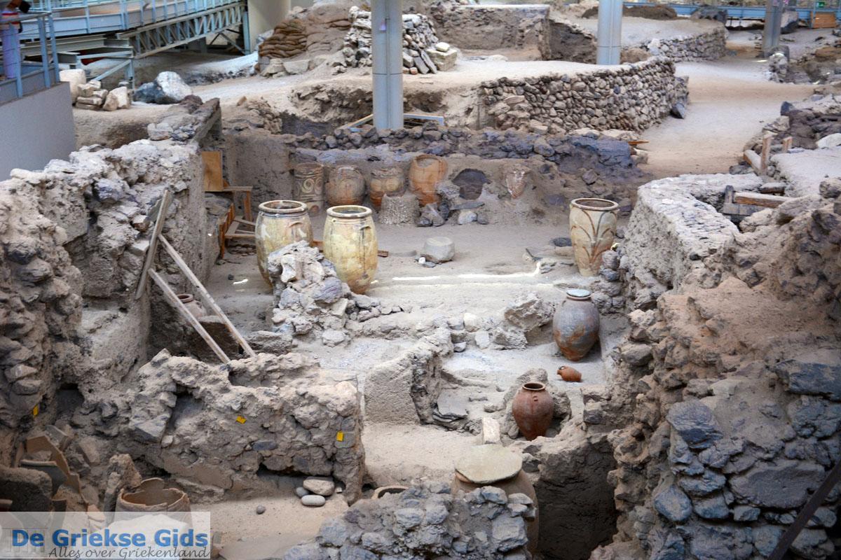 foto Opgravingen Akrotiri Santorini | Cycladen Griekenland | Foto 17