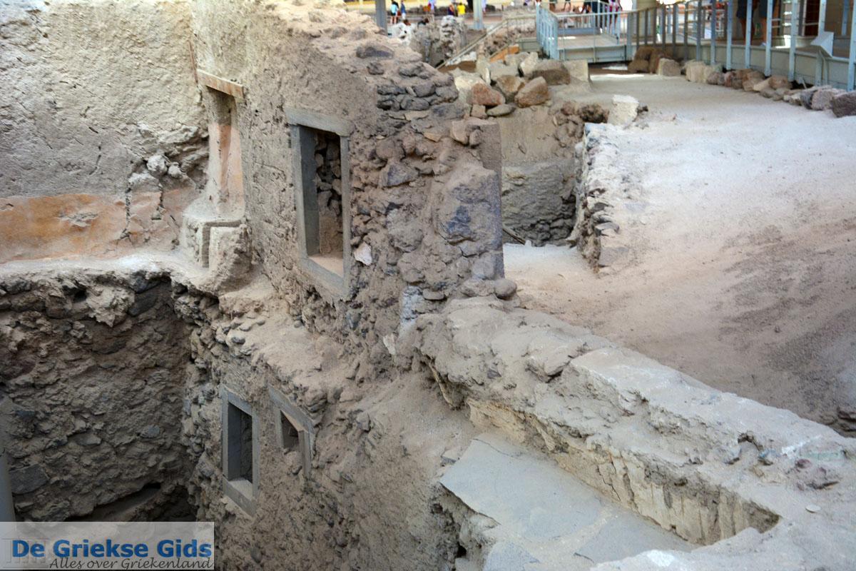 foto Opgravingen Akrotiri Santorini | Cycladen Griekenland | Foto 19