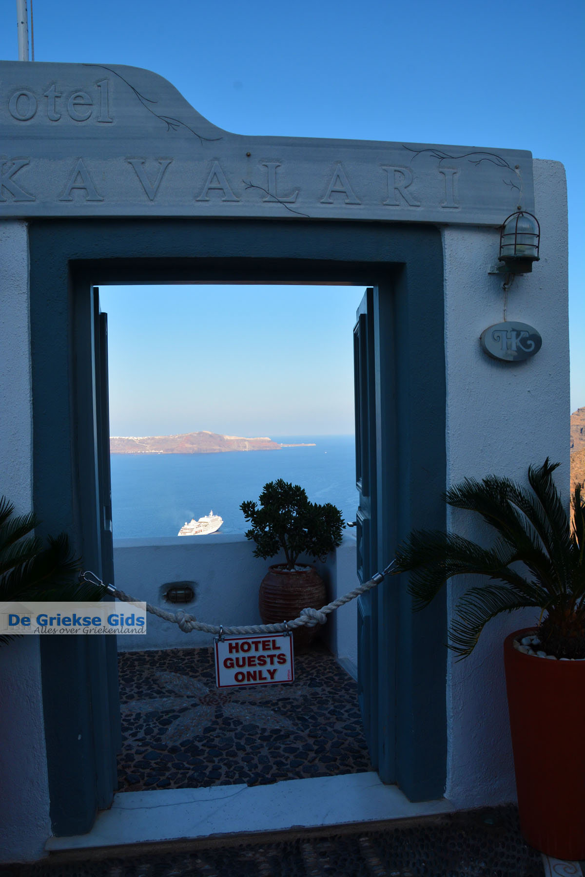 foto Fira Santorini | Cycladen Griekenland  | Foto 0044