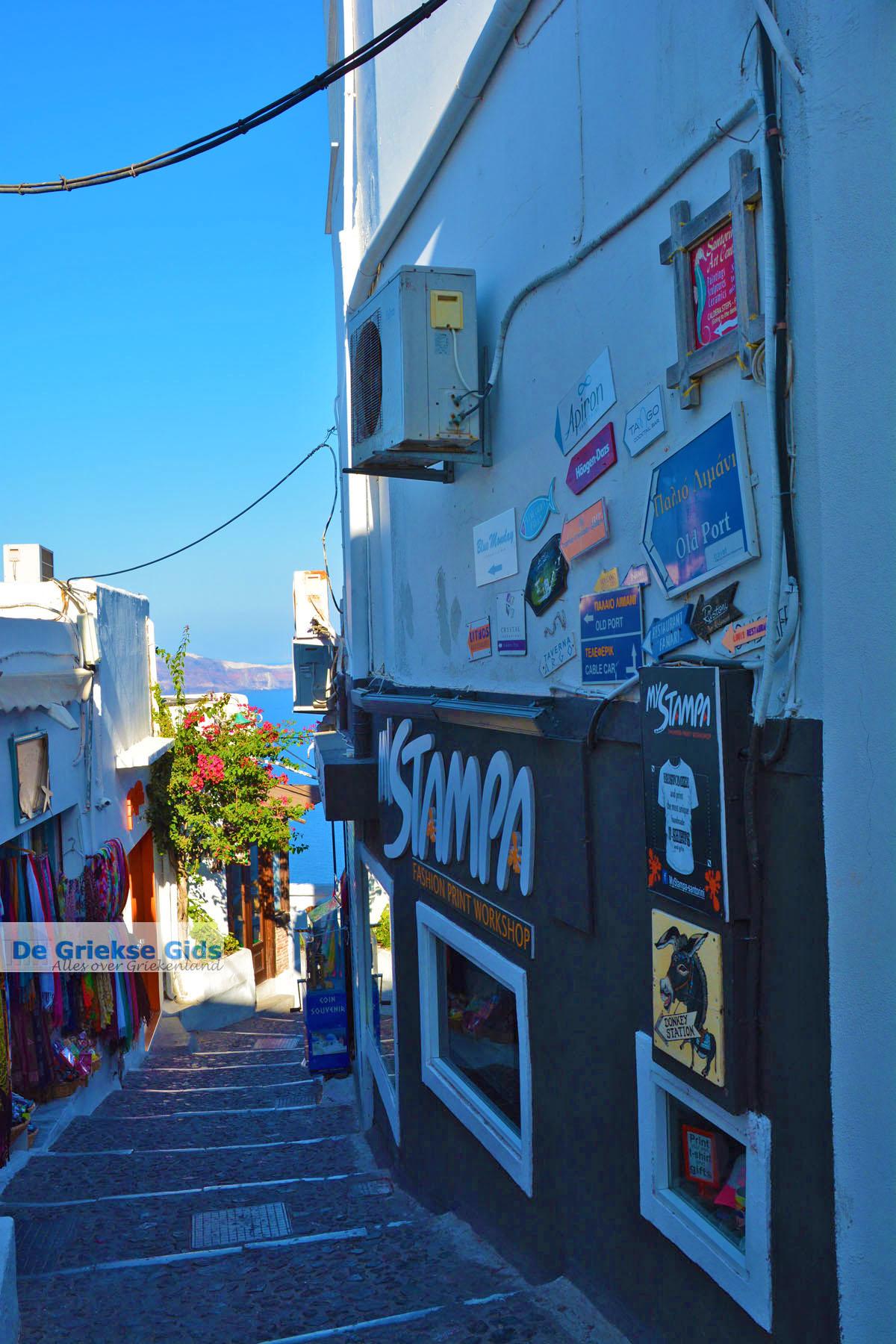 foto Fira Santorini | Cycladen Griekenland  | Foto 0046
