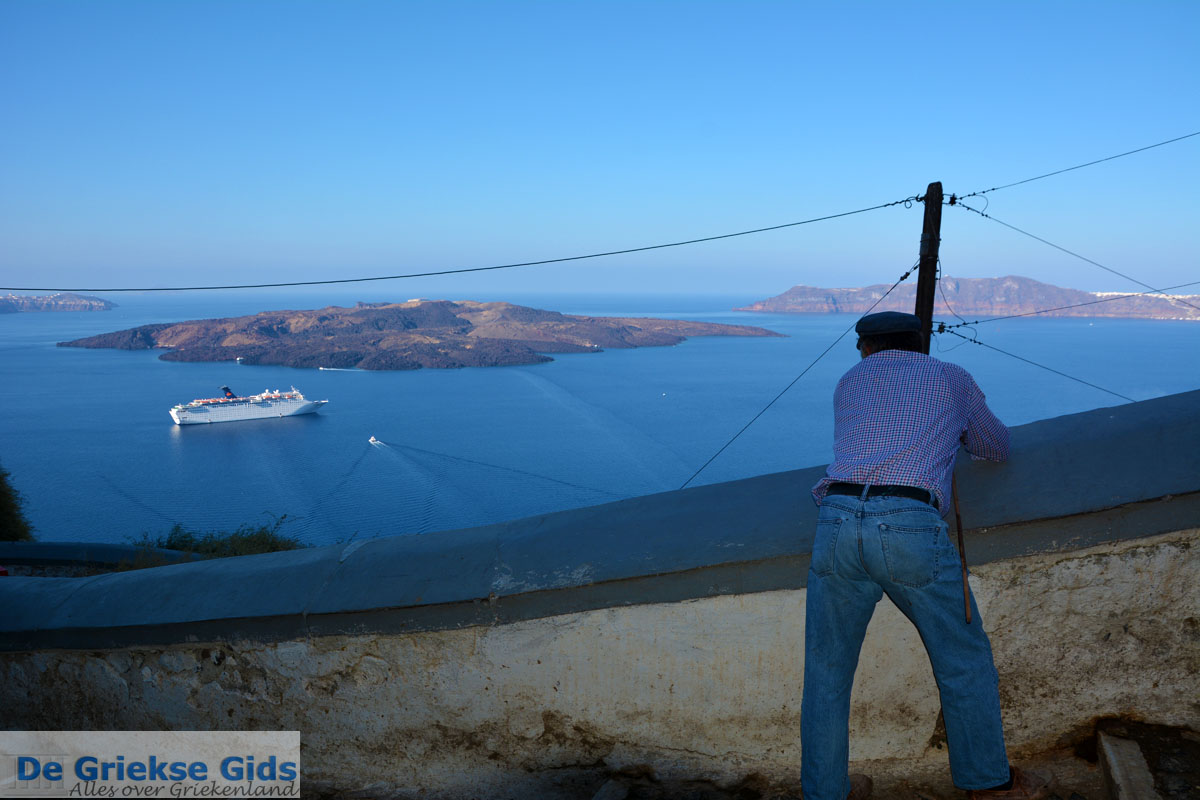 foto Fira Santorini | Cycladen Griekenland  | Foto 0061