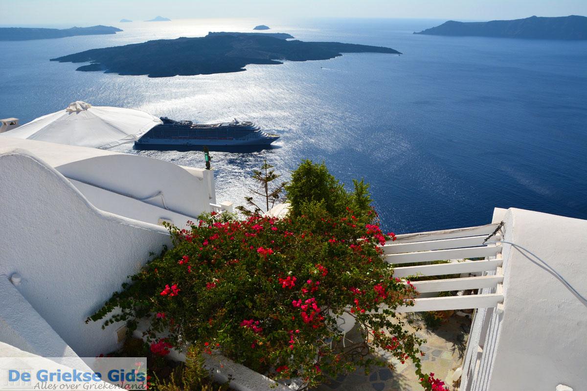 foto Firostefani Santorini | Cycladen Griekenland  | Foto 0027
