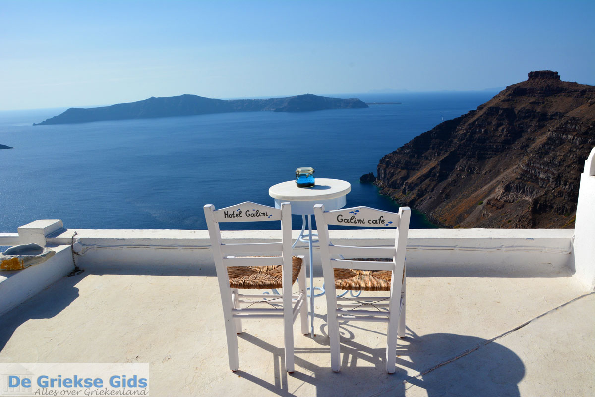 foto Firostefani Santorini   Cycladen Griekenland    Foto 0040